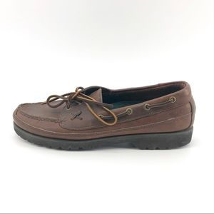 Polo Ralph Lauren Loafers 9 Mens Leather Brown